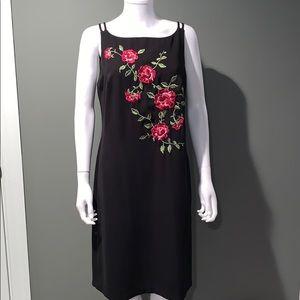 Dresses & Skirts - CDC WOMANS black vintage dress SZ.12